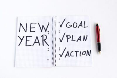 new year goals plans actions